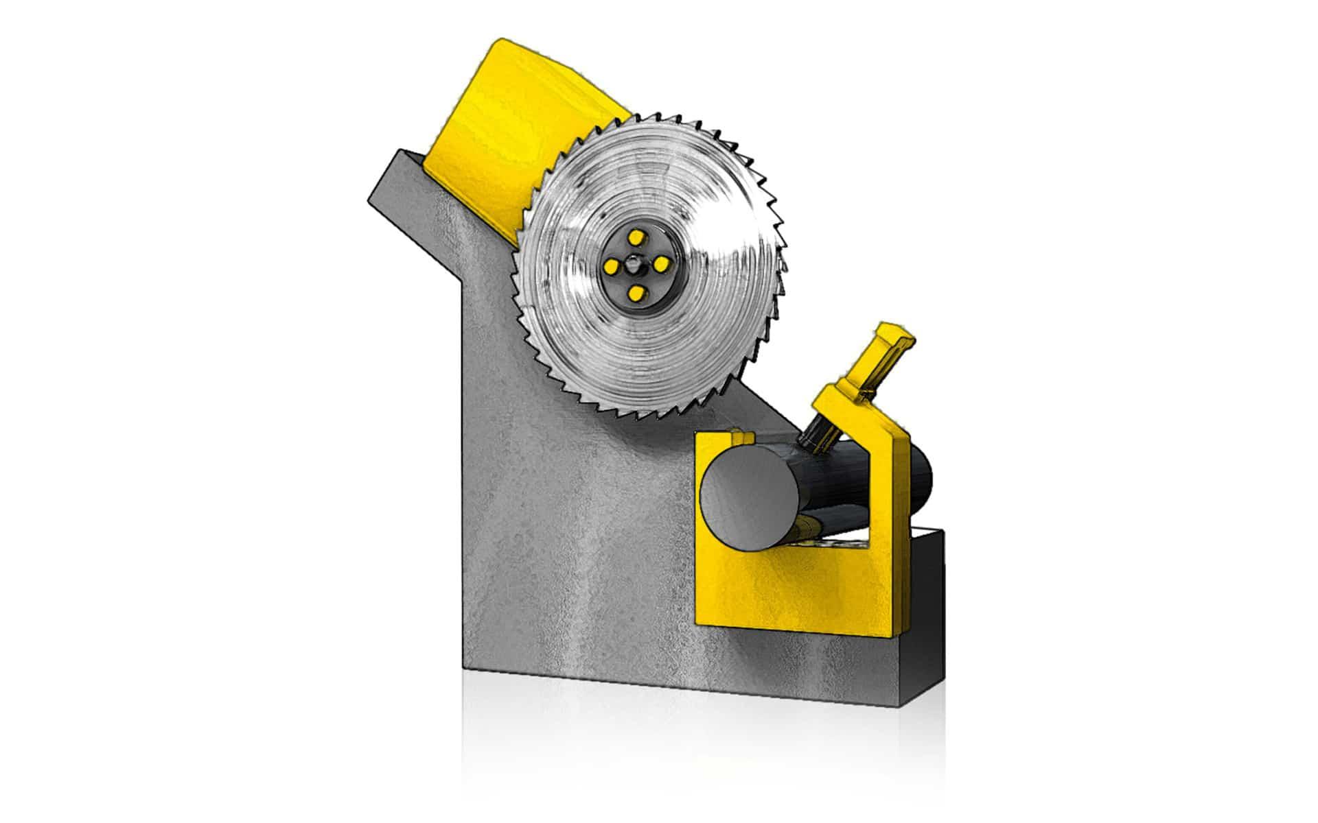 Bandbesäumungsfräsmaschine BFMK