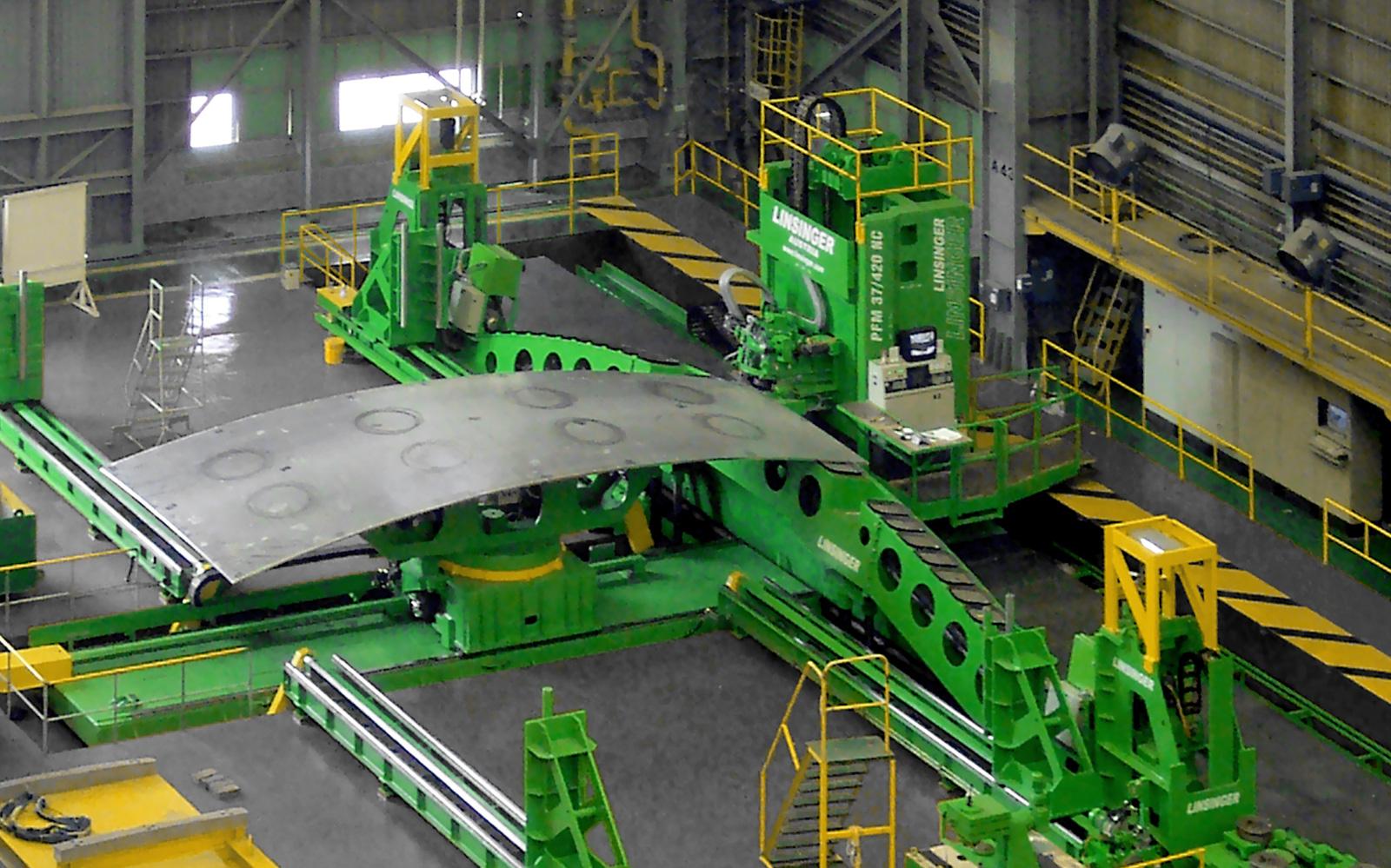 Sonderfräsanlagen Für Werften