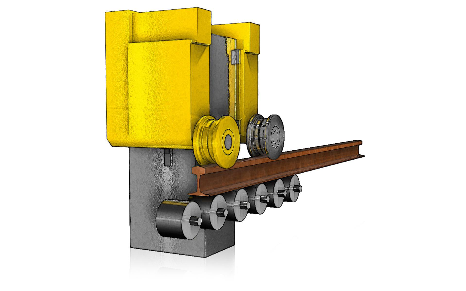 Schienenkopffräsanlage SKF