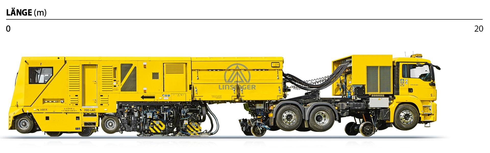 Schienenfräszug MG31