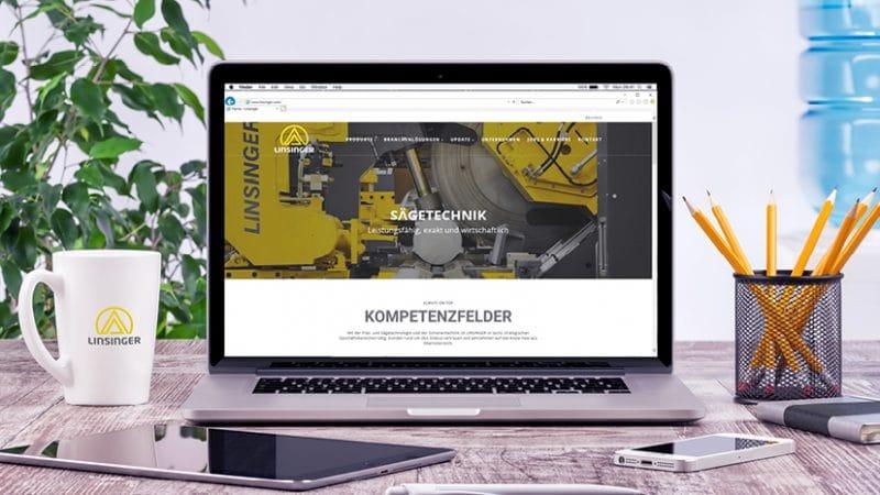Linsinger Website Launch