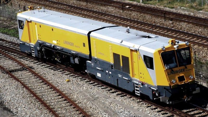 LINSINGER Rail Milling Train SF02T-FS