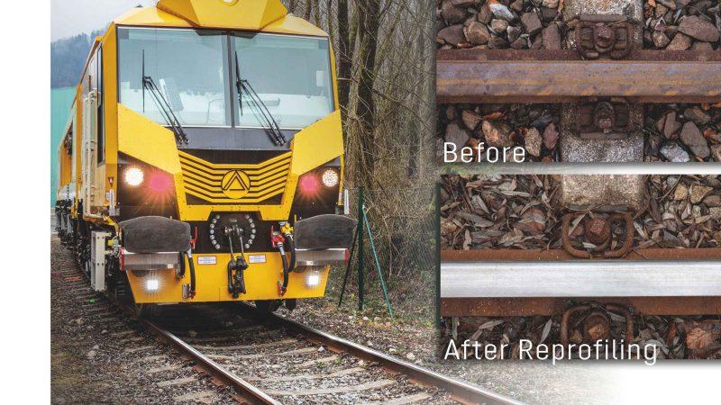 Linsinger Rail Milling Technology - Trust the Inventor