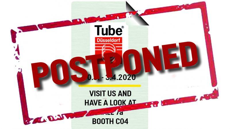 TUBE postponed