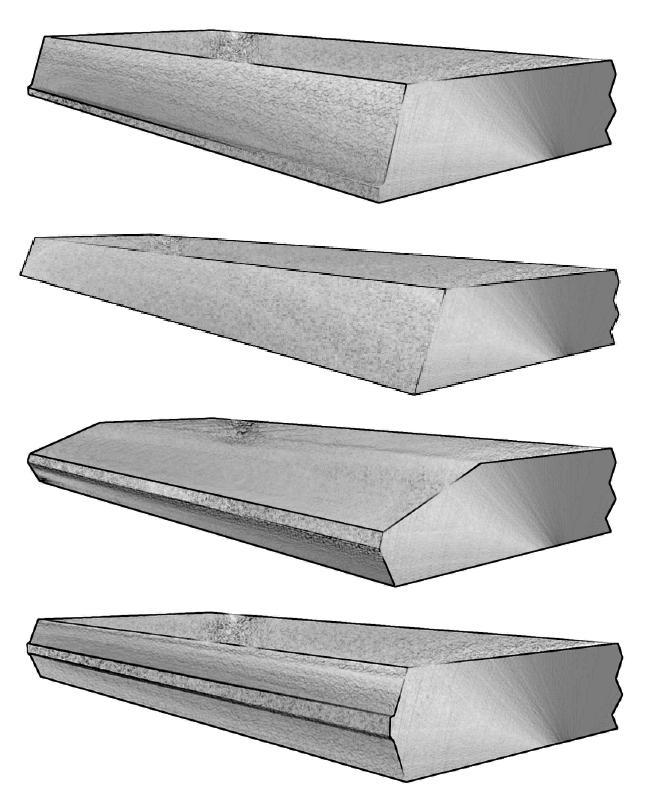 Plate Edge Profiles